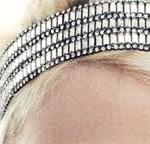 glittery headband
