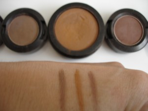 Eyebrow color swatches 1