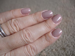 revlon's gray suede nail color