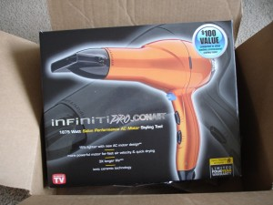 Infiniti Pro Hairdryer by Conair