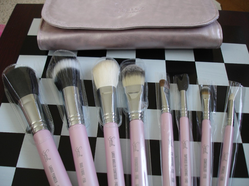 Sigma Travel Kit Nice in Pink Brush Set