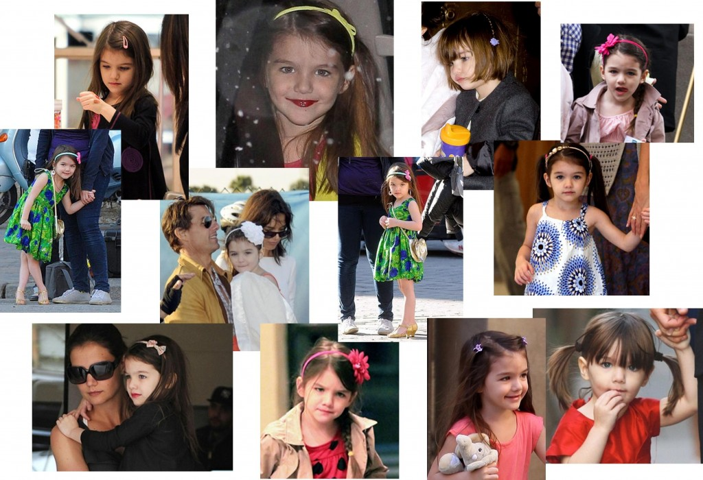 "Suri Cruise in ""Little"" Girl Accessories"