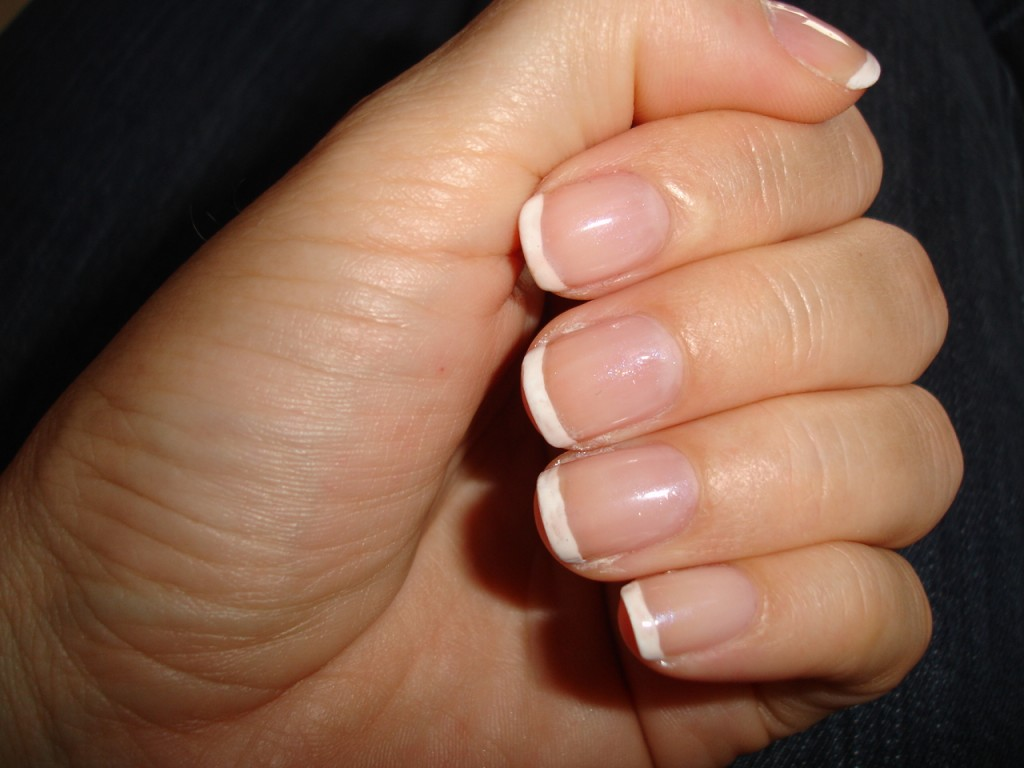 French Manicure :NOTD