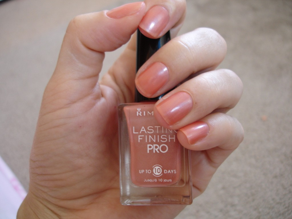Rimmel Lasting Pro Finish in Spiced Romance