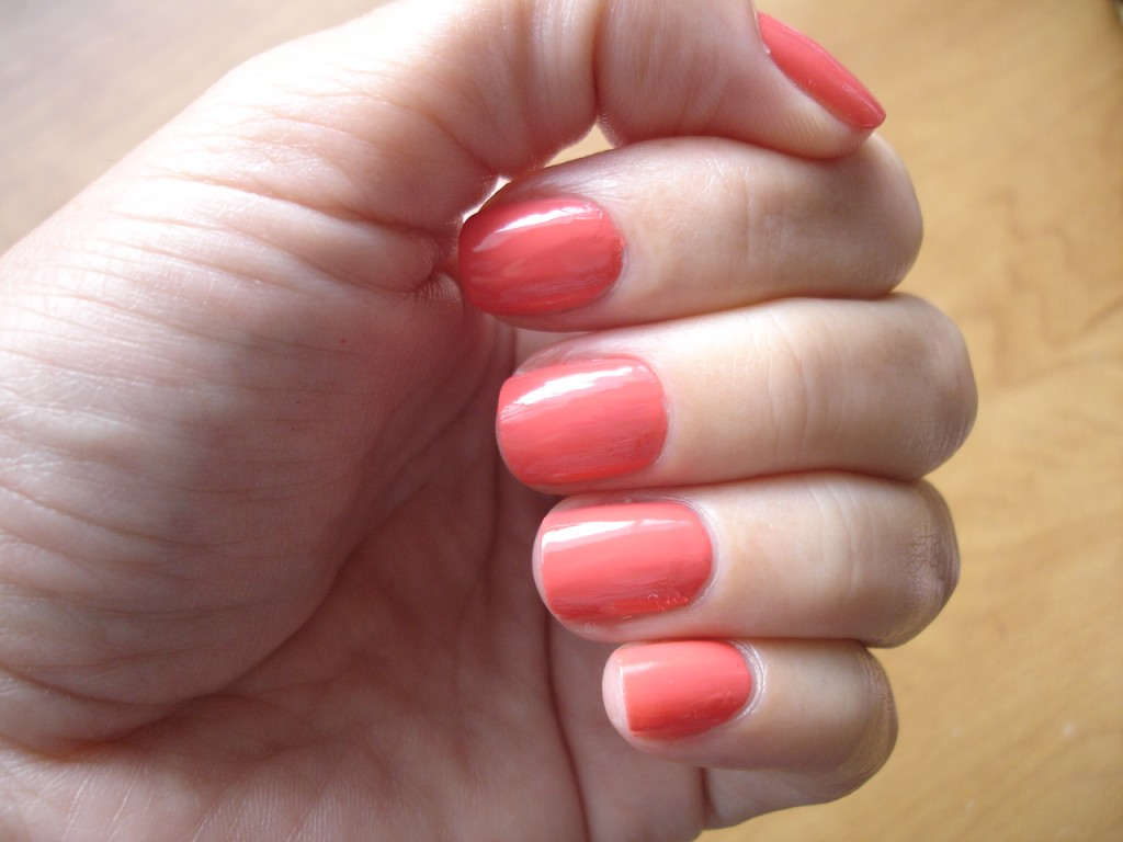Nail Polish in Tangy