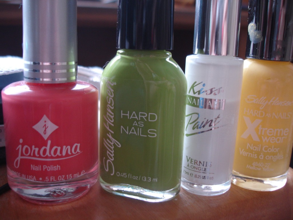 Jordana Nail Polish in Tangy