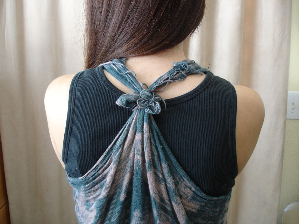 How to Make a Scarf into a Vest