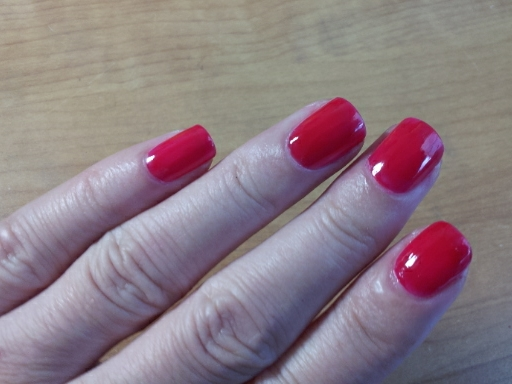 Wet n Wild Megalast Nail Polish Red